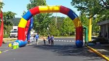 Hot sales custom manufacturer inflatable arch for wholesale