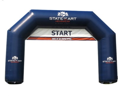 Inflatable arch entrance custom start line inflatable arch