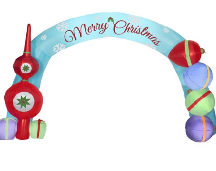 Christmas inflatable arch outdoor inflatable christmas arch