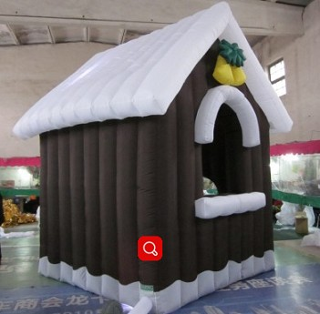 Giant inflatable christmas model inflatable house model
