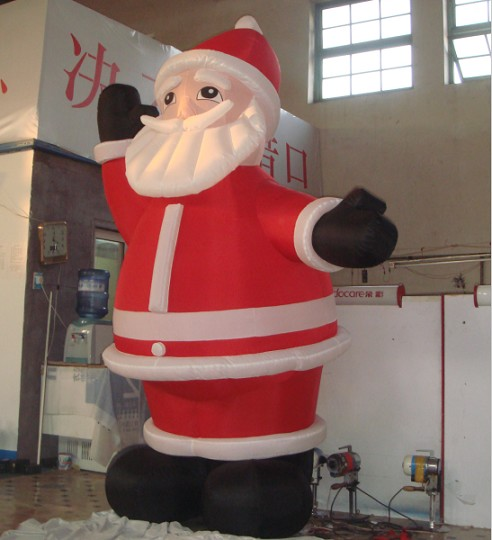 Christmas advertising inflatable model Santa Claus cartoon