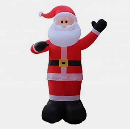 Inflatable characters cartoon inflatable Father Christmas cartoon