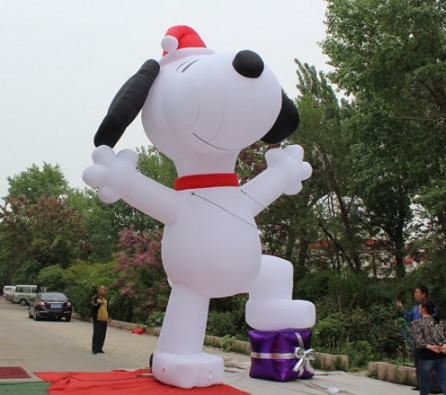 Merry Christmas Giant Inflatable Cartoon Model Manufacturer